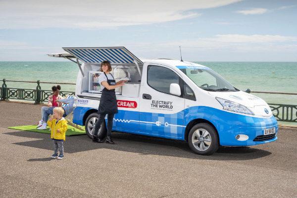 Así es el Nissan e-NV200 Ice Cream Concept: el 'carrito' eléctrico de los helados