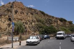 La colina conocida como los 'cabezos' Mondaca en la capital onubense.