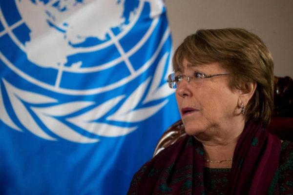 AME5176. CARACAS (VENEZUELA).- La alta comisionada de Naciones Unidas para los derechos humanos, Michelle <HIT>Bachelet</HIT>, y el fiscal general, Tarek William Saab (fuera de cuadro), se reúnen este jueves, en la sede diplomática de la Cancillería venezolana, en Caracas (Venezuela). <HIT>Bachelet</HIT> se reunió este jueves con representantes de los poderes públicos de Venezuela, en su segunda jornada en Caracas, a propósito de una visita de tres días al país. La exmandataria chilena conversó en privado con los ministros venezolanos de Interior y Defensa, Néstor Reverol y Vladimir Padrino, respectivamente.  Miguel Gutiérrez