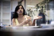 Majandra, activista y abogada transexual que solicita asilo en España.