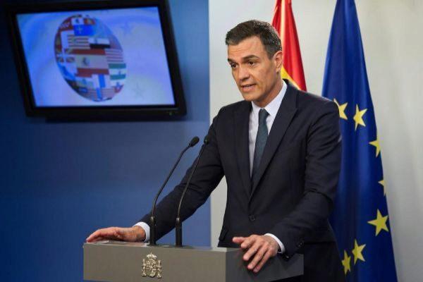 El presidente del Gobierno, Pedro Sánchez, ayer en Bruselas.