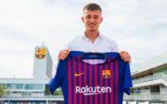 Mike van Beijnen con la camiseta del Barça