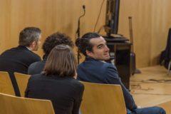 Uno de los acusados en el proceso, que ha quedado absuelto.