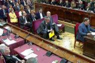 Oriol Junqueras declara en el Tribunal Supremo por el 1-O