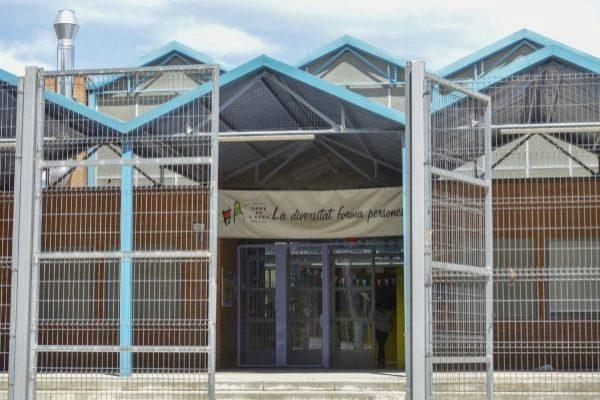 Colegio Público Font de l'Alba, en Terrassa.