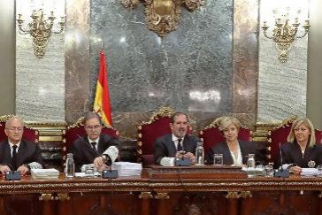 El tribunal del Supremo que ha condenado a La Manada