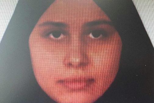 Luna Fernández Grande antes de irse a Siria con su marido yihadista.