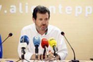 El ex presidente del PP provincial de Alicante, José Císcar.