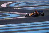 Sainz, durante la clasificación del sábado en Paul Ricard.