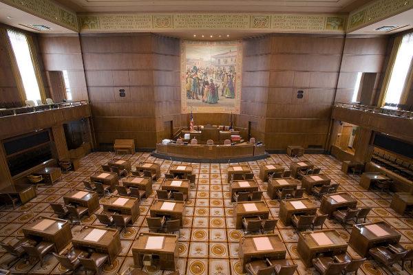 Senado estatal de Oregon, del que huyeron los senadores a la fuga.