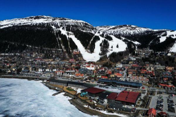 La estación de Are, apuesta olímpica sueca para 2026.
