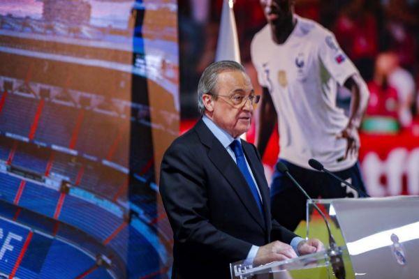 GRAF970. MADRID.- El presidente del Real Madrid, <HIT>Florentino</HIT>...