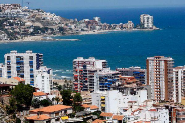 Vista aérea de la localidad valenciana de Cullera.
