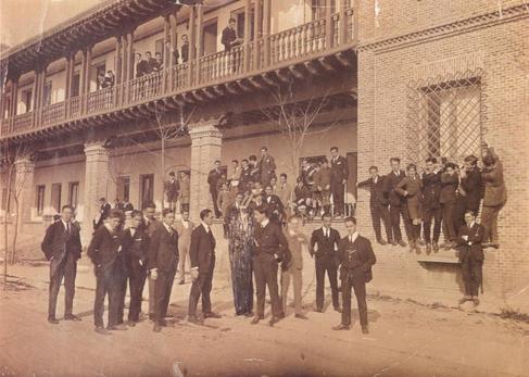 La Residencia de Estudiantes, en los años del 27.