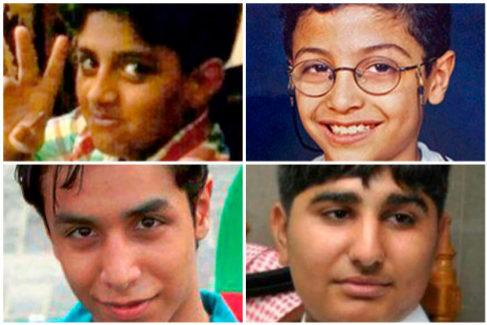 'Niños' en el corredor de la muerte