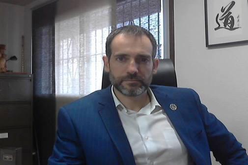 Juan José Liarte, portavoz de Vox en la Asamblea de Murcia, en una imagen de su página de Facebook.