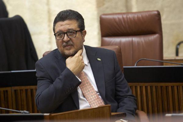 El líder de Vox en Andalucía, Francisco Serrano.