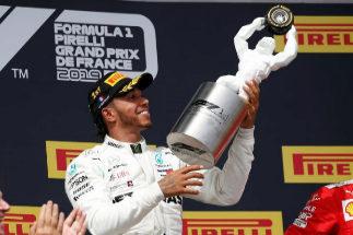 Hamilton aplasta en Paul Ricard y Sainz saca un meritorio sexto puesto
