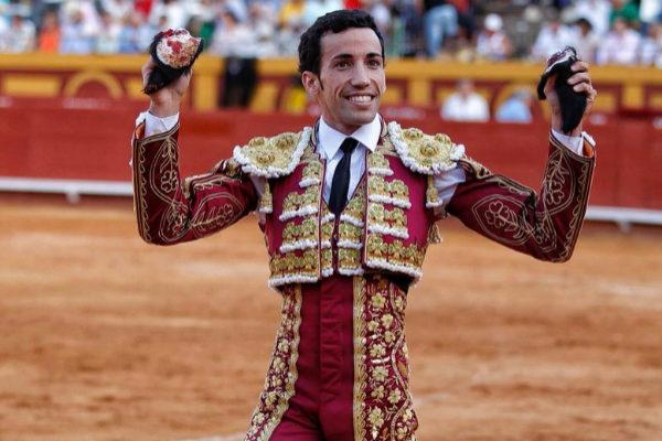 David de Miranda cuaja un gran toro de Albarreal