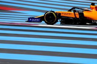 Carlos Sainz, durante el GP de Francia.