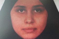 Luna Fernández Grande antes de irse a Siria con su marido yihadista