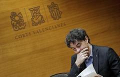 El secretario autonómico de Turismo, Francecs Colomer, en una comparecencia en las Cortes valencianas, en imagen de archivo.