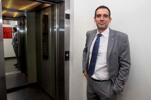 Juan José Liarte, portavoz de Vox en la Asamblea Regional de Murcia.