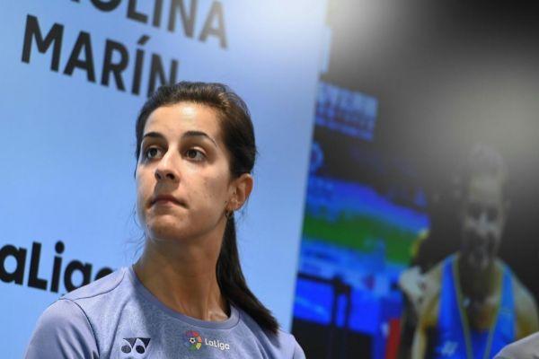 GRAF3676. MADRID.- <HIT>Carolina</HIT> <HIT>Marín</HIT>, campeona...
