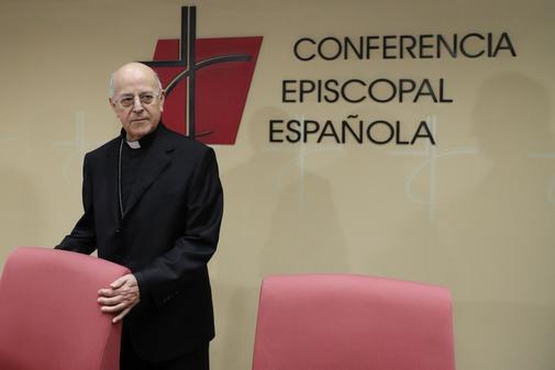 Ricardo Blázquez, presidente de la Conferencia Episcopal, en rueda de prensa