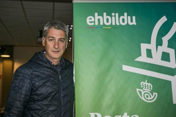 Oskar Matute, dirigente de EH Bildu.