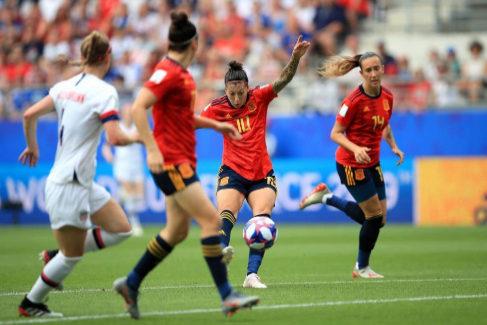 España, eliminada por Estados Unidos en octavos de final