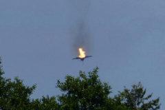Dos cazas Eurofighter chocan en pleno vuelo
