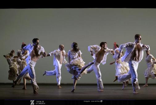 Espectáculo 'Zarzuela en danza'.
