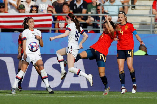 Women's World Cup - Round of 16 - Spain v United States