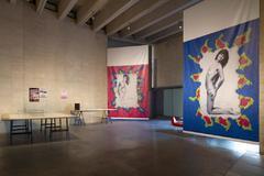 Exposición 'Dar la oreja, hacer aparecer: cuerpo, acción y feminismos' en el MUSAC de León.