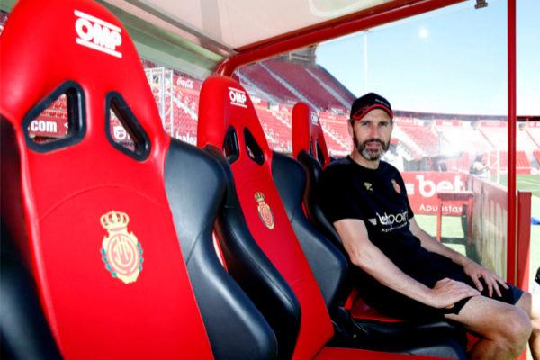 El entrenador del Mallorca, Vicente Moreno