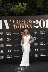 La actriz, que recibió el <strong>Premio a la Solidaridad</strong>,...