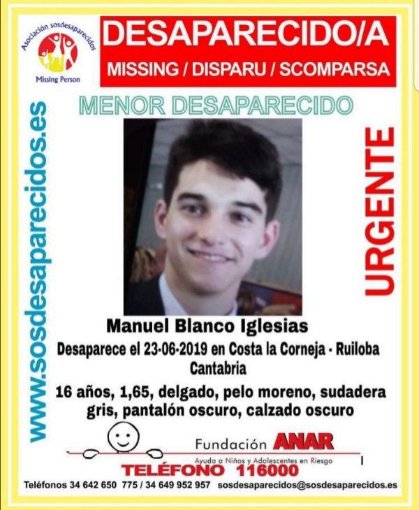 Buscan a un menor desaparecido en una zona de acantilados en Cantabria