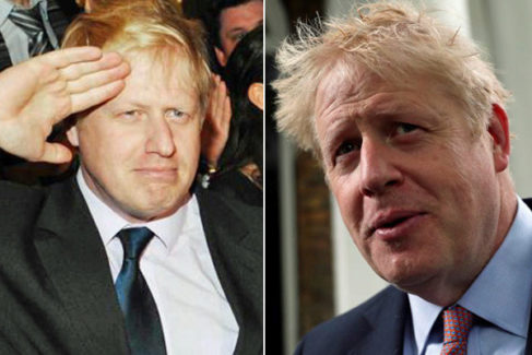 La metamorfosis de Boris Johnson