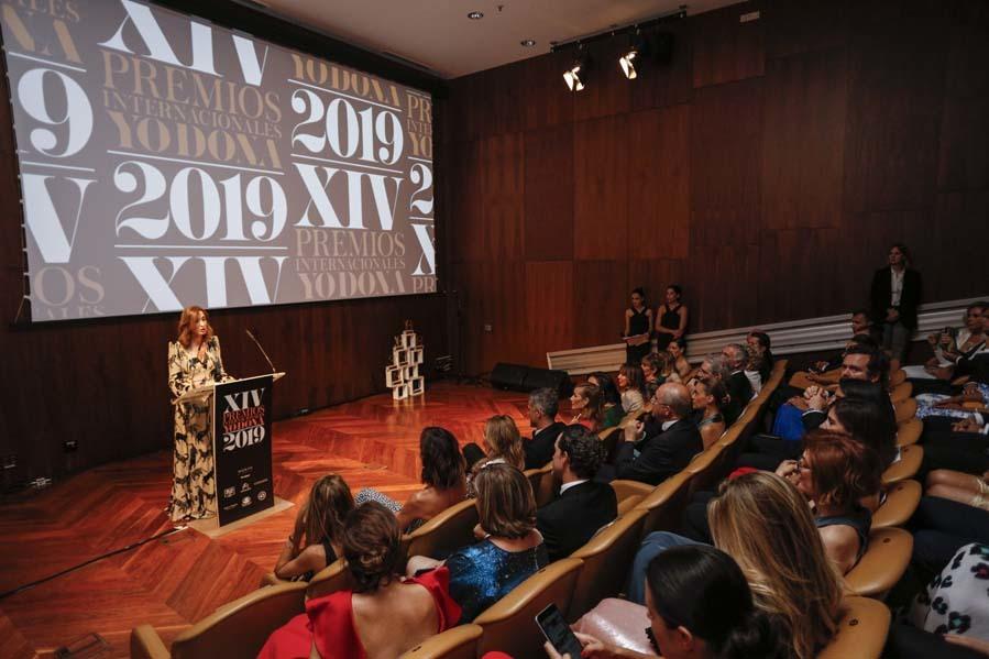 Marta Michel, directora de Yo Dona - Gala de entrega de los Premios Internacionales Yo Dona 2019