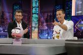 Pablo Motos y Sergio Canales en El Hormiguero en Antena 3, donde el...