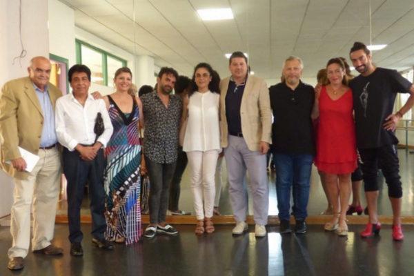 Participantes en el Seminario Internacional sobre Flamenco en Málaga.