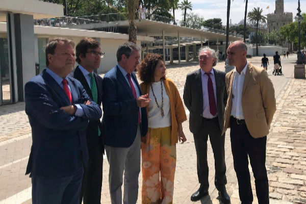 Hacienda acuerda con el Ayuntamiento de Sevilla promover el centro de la nao Victoria