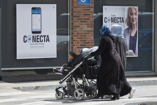 Inmigrantes que viven en Beniel, Alicante.