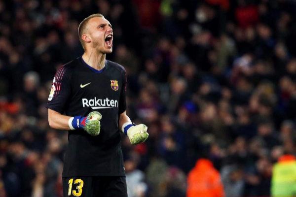 El portero holandés del Barça, Cillesen.
