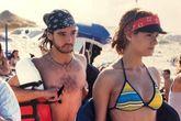 Quimi (Antonio Hortelano) y Valle (Eva Santolaria) en el rodaje de...