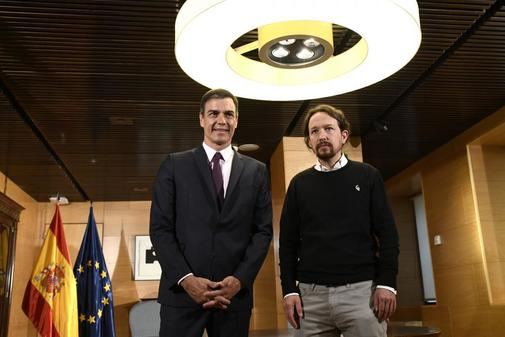 Pedro Sánchez desafía a Pablo Iglesias a tumbar su investidura: no acepta ministros de Podemos
