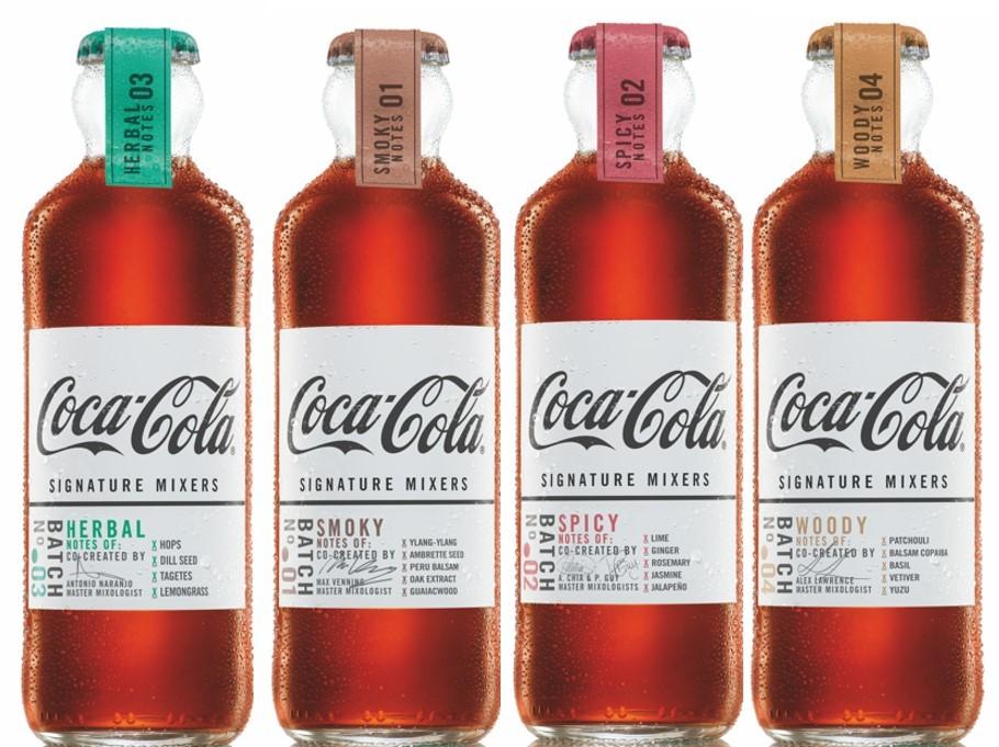 Coca-Cola crea la primera cola para mezclar con alcohol