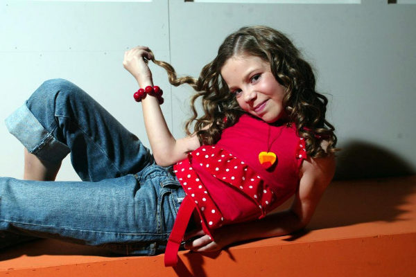 María Isabel, ganadora de Eurovisión Junior en 2004.