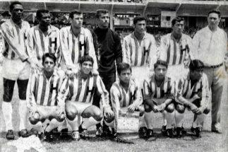 El once hondureño de aquella eliminatoria mundialista de 1969.